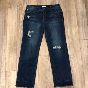 Kensie cropped jeans size 8/29